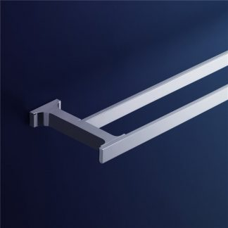 Jovian Double Towel Rail - 800mm 3408.04